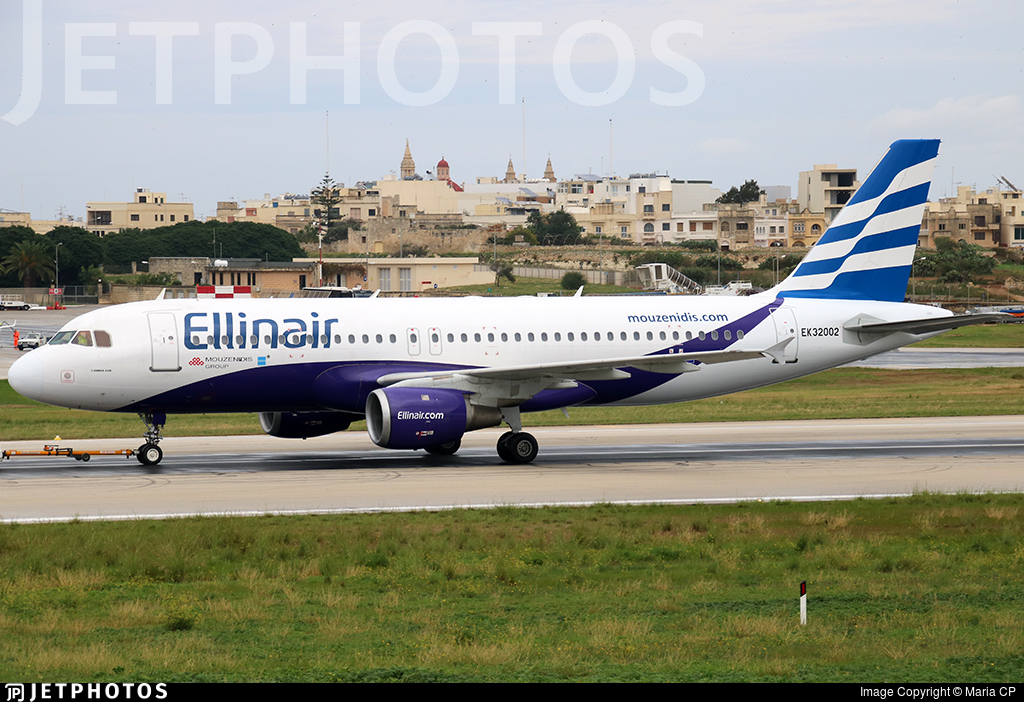 EK32002 - Airbus A320-211 - Ellinair (Atlantis European Airways)
