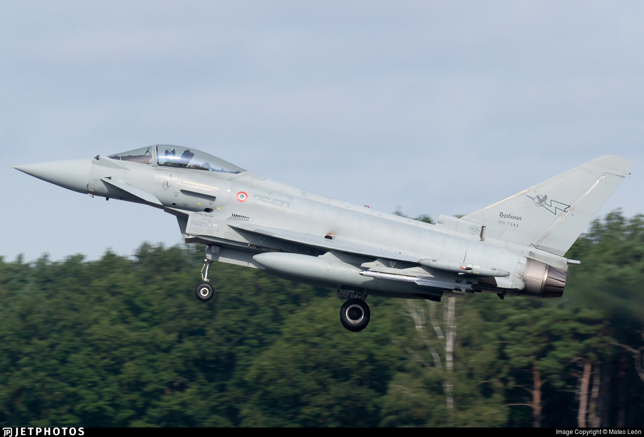 MM7343 - Eurofighter Typhoon EF2000 - Italy - Air Force
