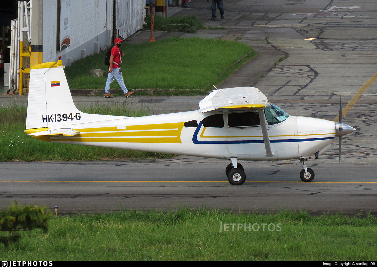 HK-1394-G - Cessna 182A Skylane - Private