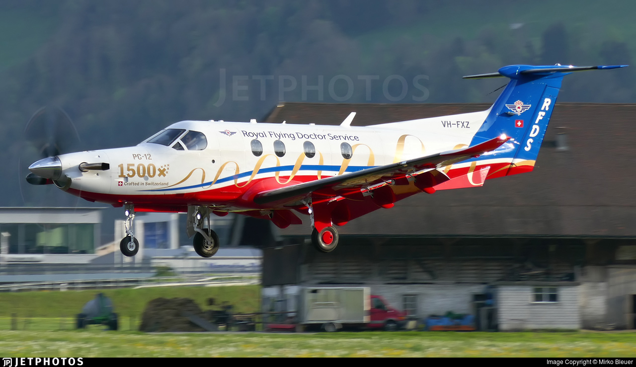 VH-FXZ - Pilatus PC-12/47E - Royal Flying Doctor Service of Australia (Central Section)