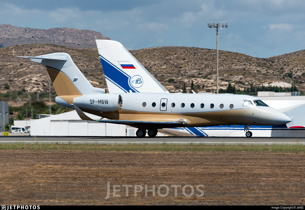 SP-MBW - Gulfstream G280 - AMC Aviation