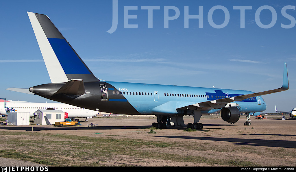 F-HCIE - Boeing 757-204 - Untitled