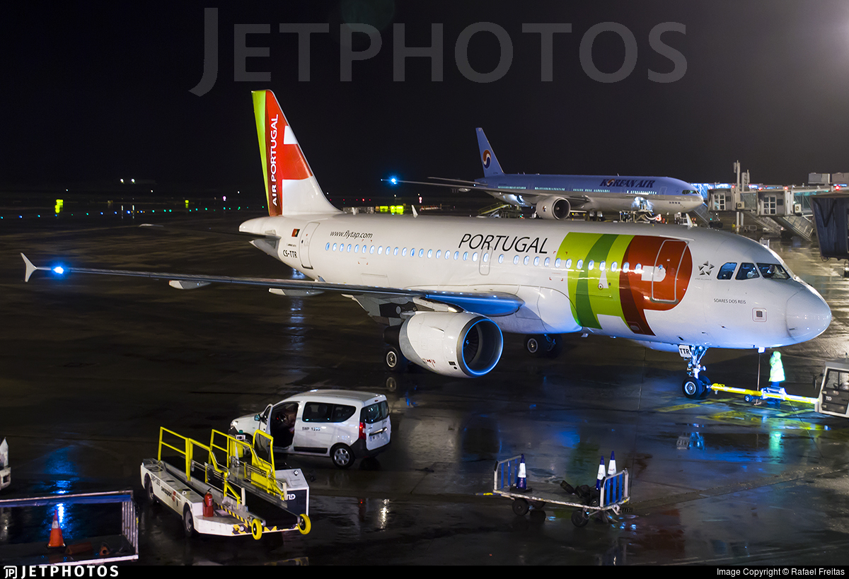 CS-TTR - Airbus A319-112 - TAP Air Portugal
