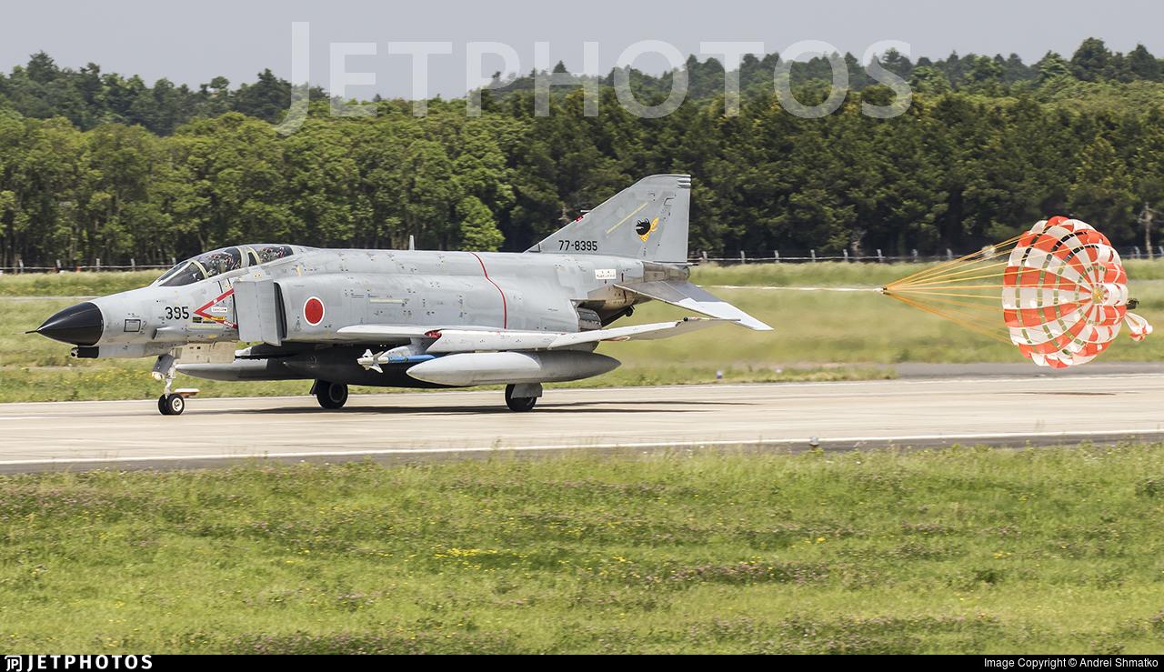77-8395 - McDonnell Douglas F-4EJ Kai - Japan - Air Self Defence Force (JASDF)