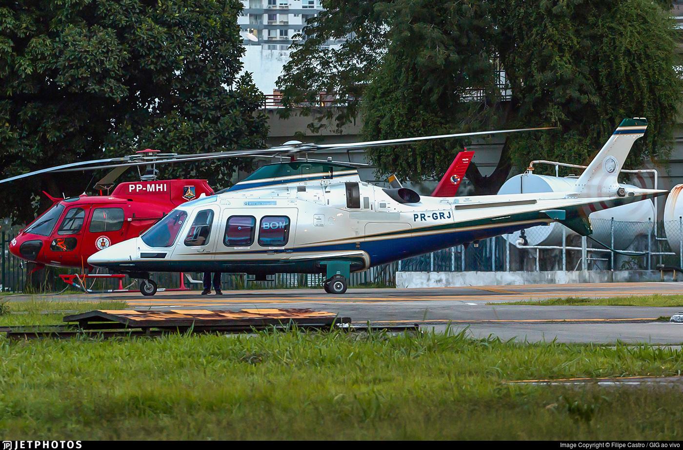 PR-GRJ - Agusta-Westland AW-109SP - Brazil - Government of Rio de Janeiro State