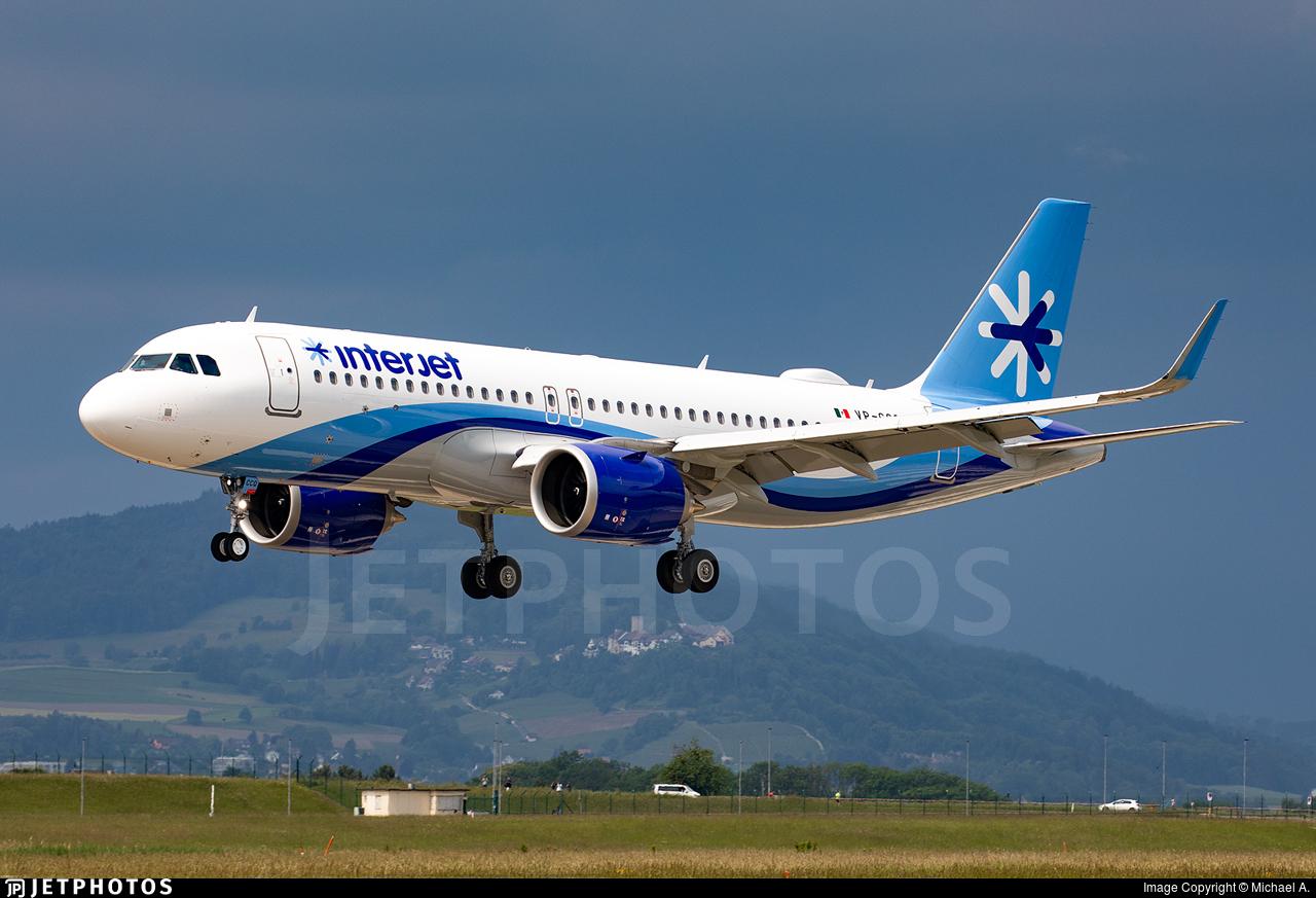 VP-CCQ - Airbus A320-251N - Interjet