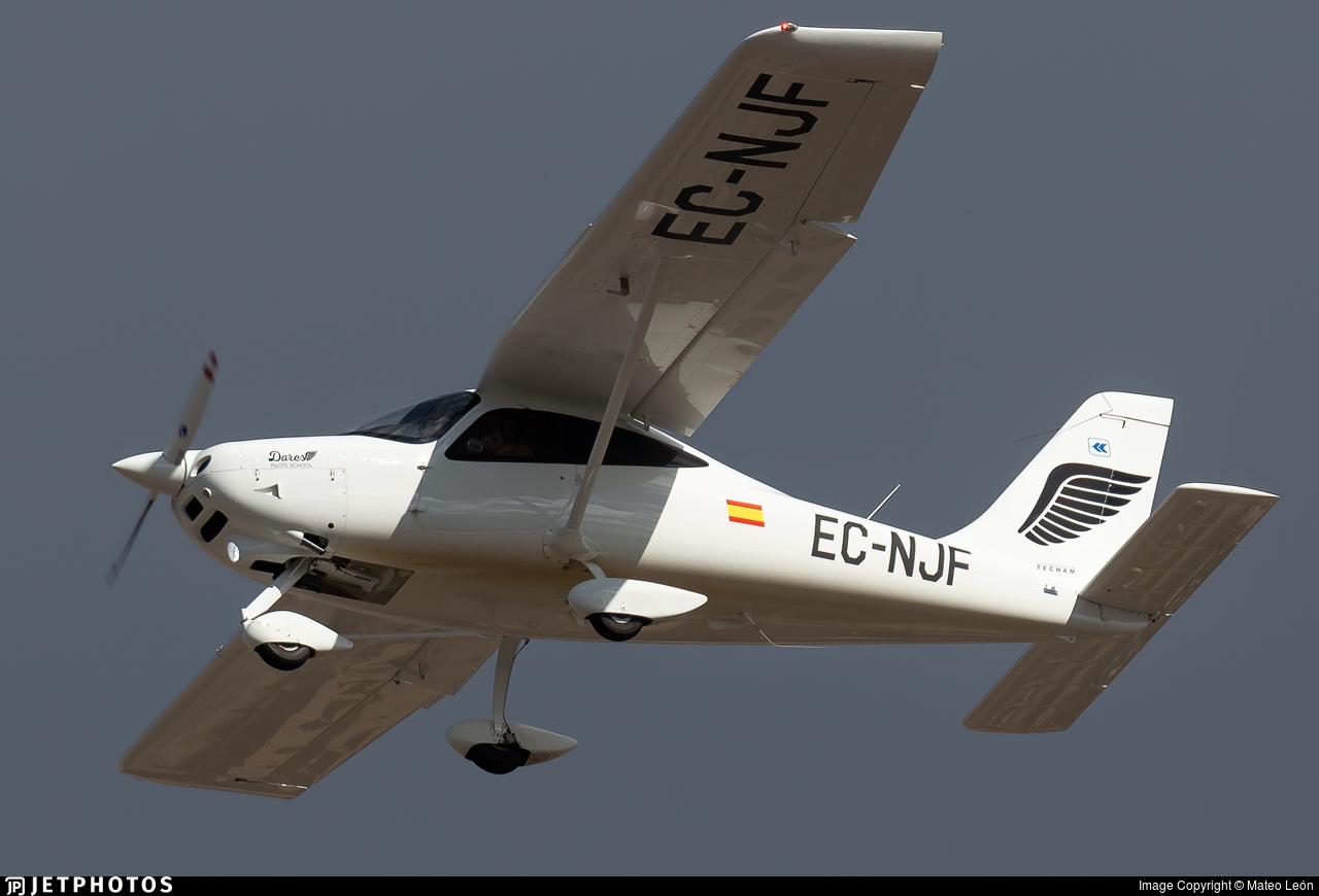 EC-NJF - Tecnam P2008JC MkII - Dares Pilots School