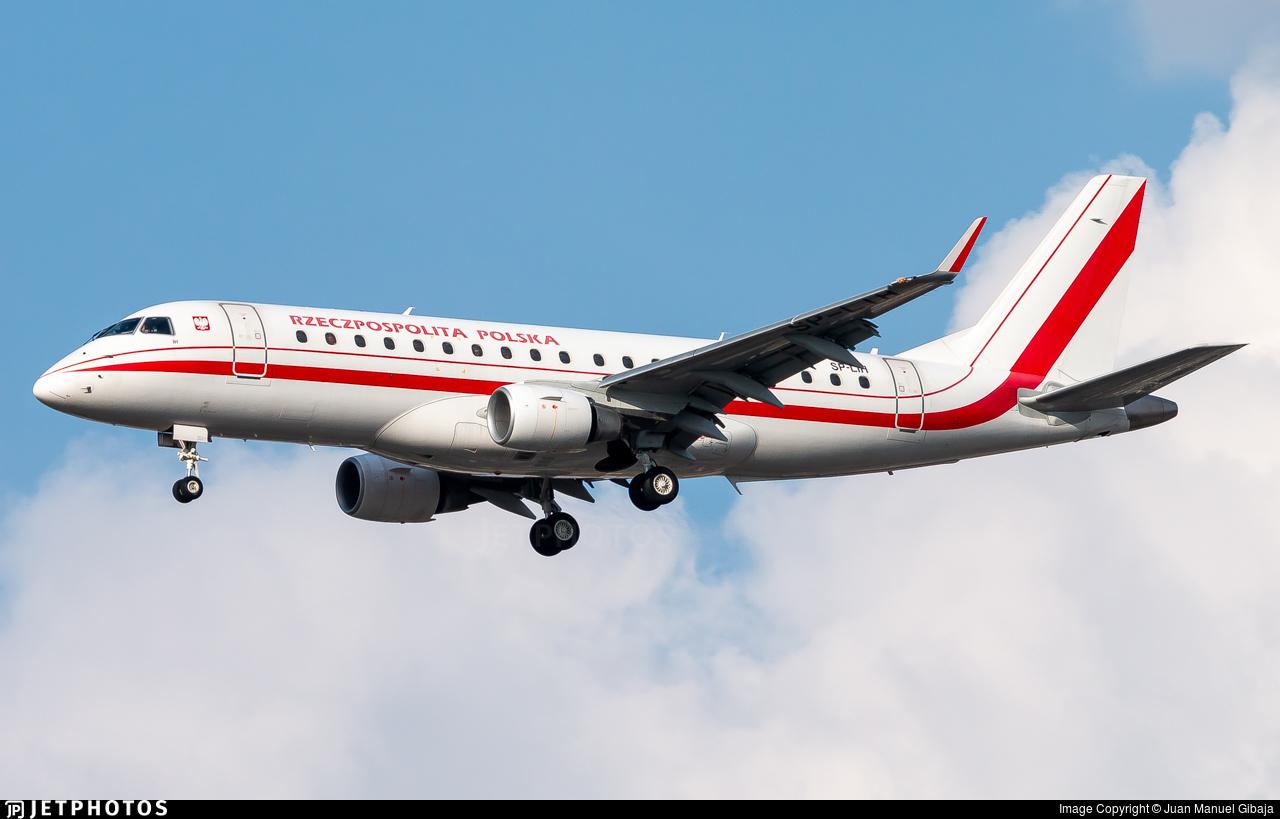 SP-LIH - Embraer 170-200LR - Poland - Government (LOT Polish Airlines)