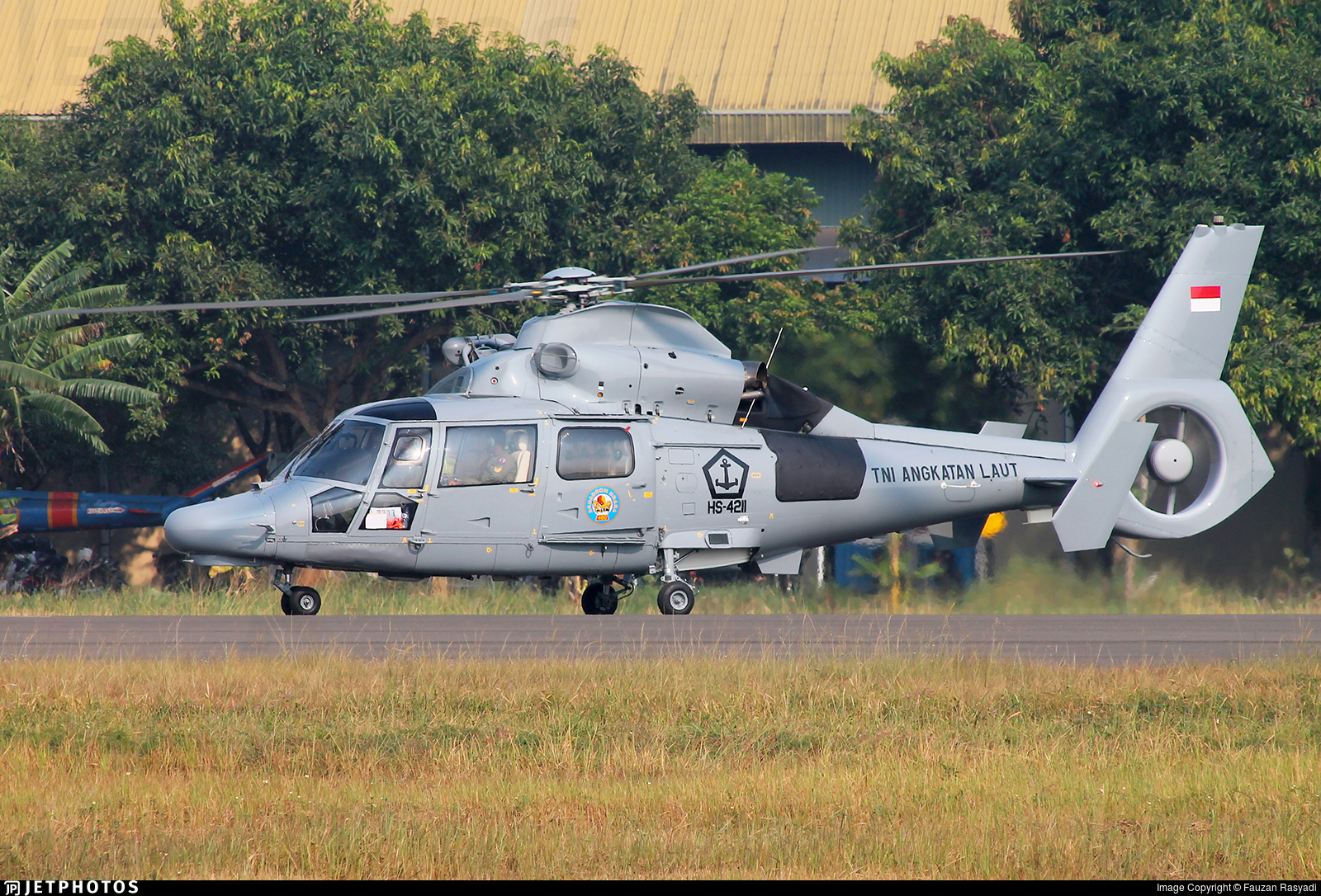 HS-4211 - Eurocopter AS-565MBe Panther  - Indonesia - Naval Air Arm