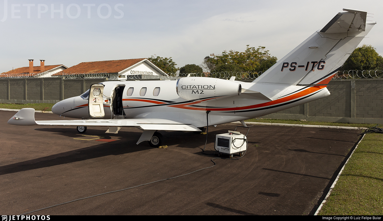 PS-ITG - Cessna 525 CitationJet M2 - Private