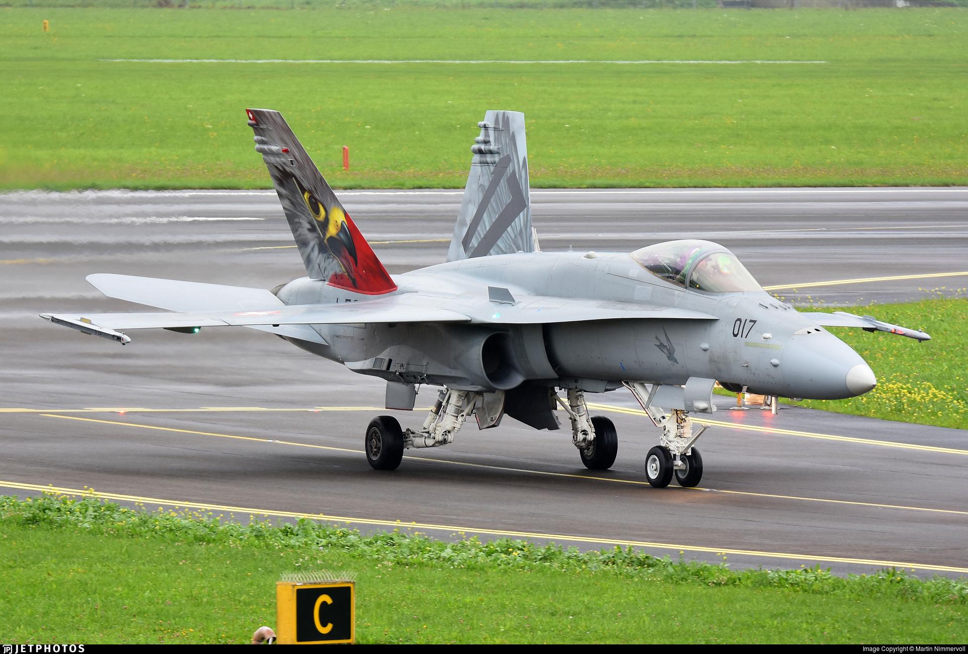 J-5017 - McDonnell Douglas F/A-18C Hornet - Switzerland - Air Force