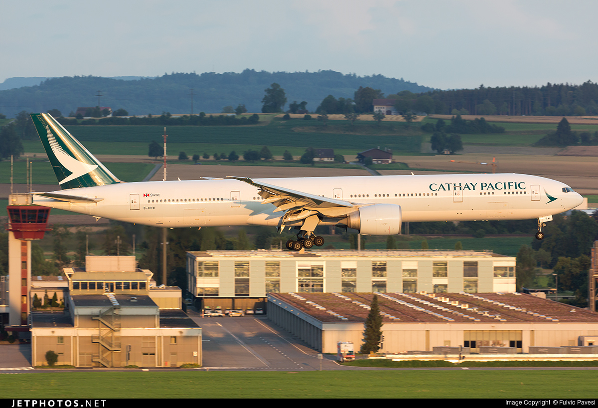 B-KPM - Boeing 777-367ER - Cathay Pacific Airways