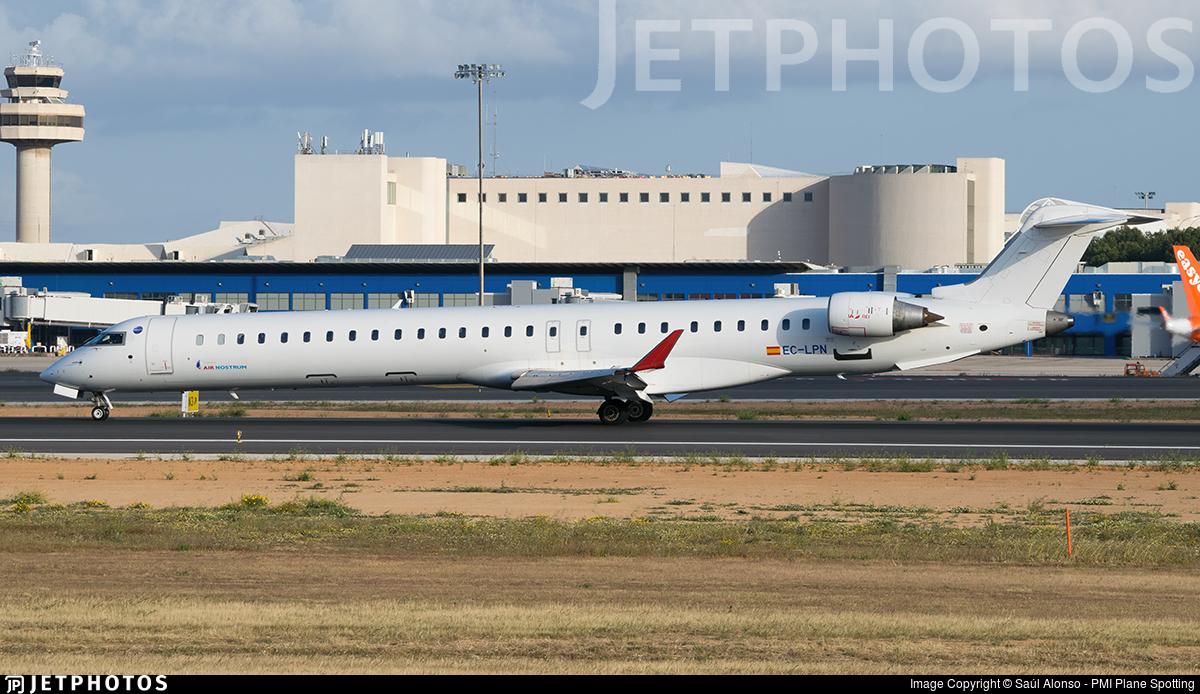 EC-LPN - Bombardier CRJ-1000 - Air Nostrum