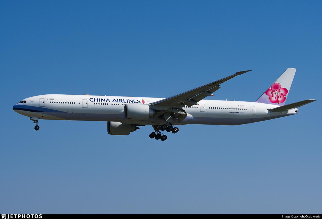 B-18055 - Boeing 777-36NER - China Airlines