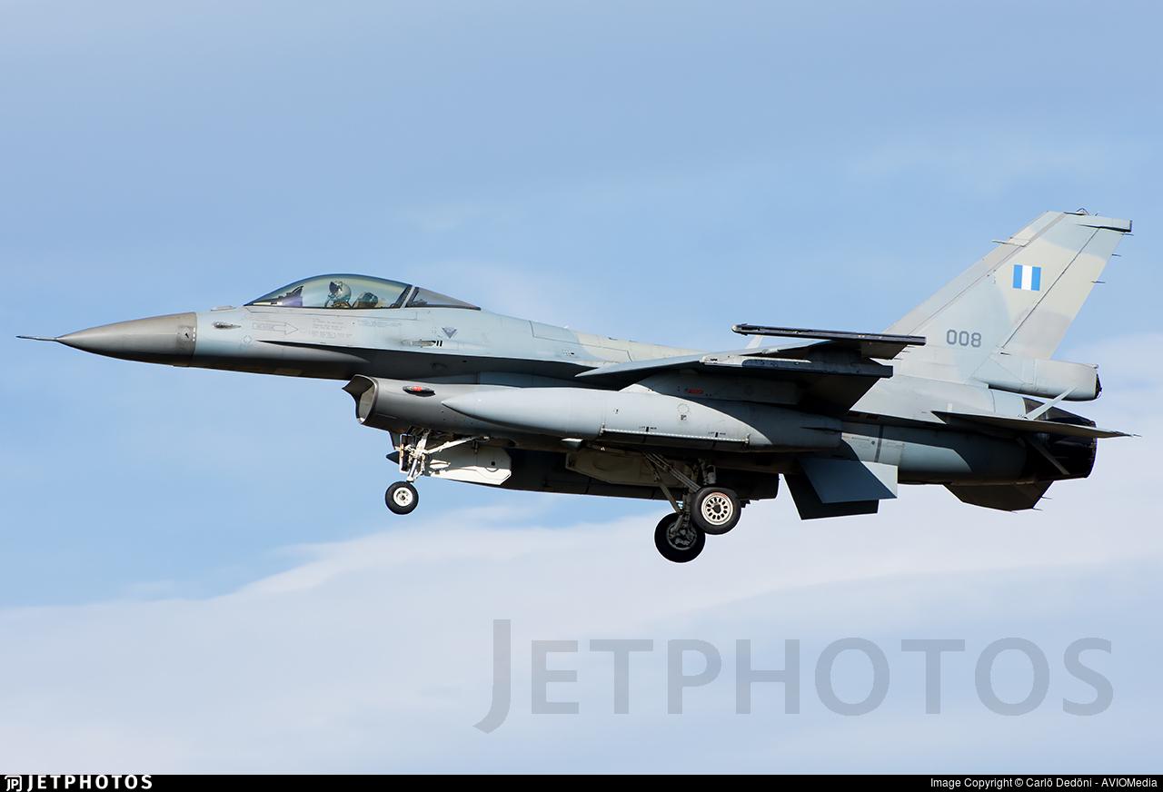 008 - General Dynamics F-16C Fighting Falcon - Greece - Air Force