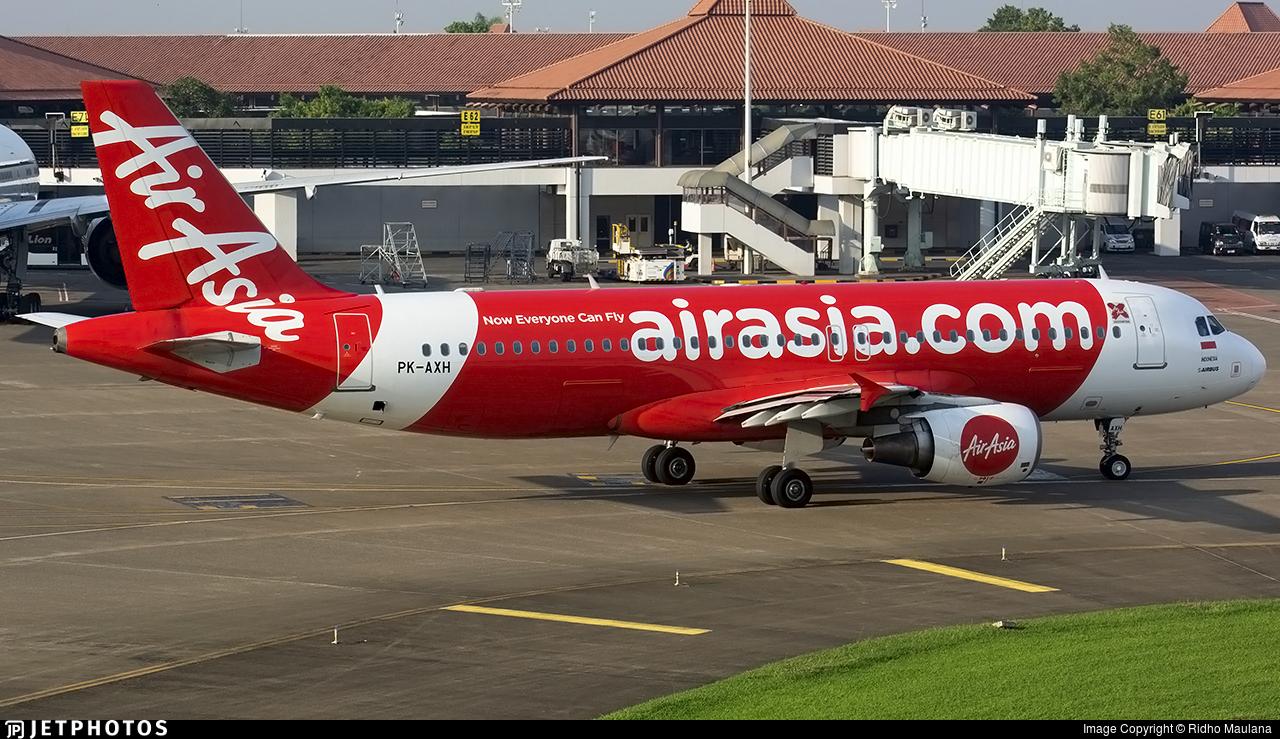 PK-AXH - Airbus A320-216 - Indonesia AirAsia X