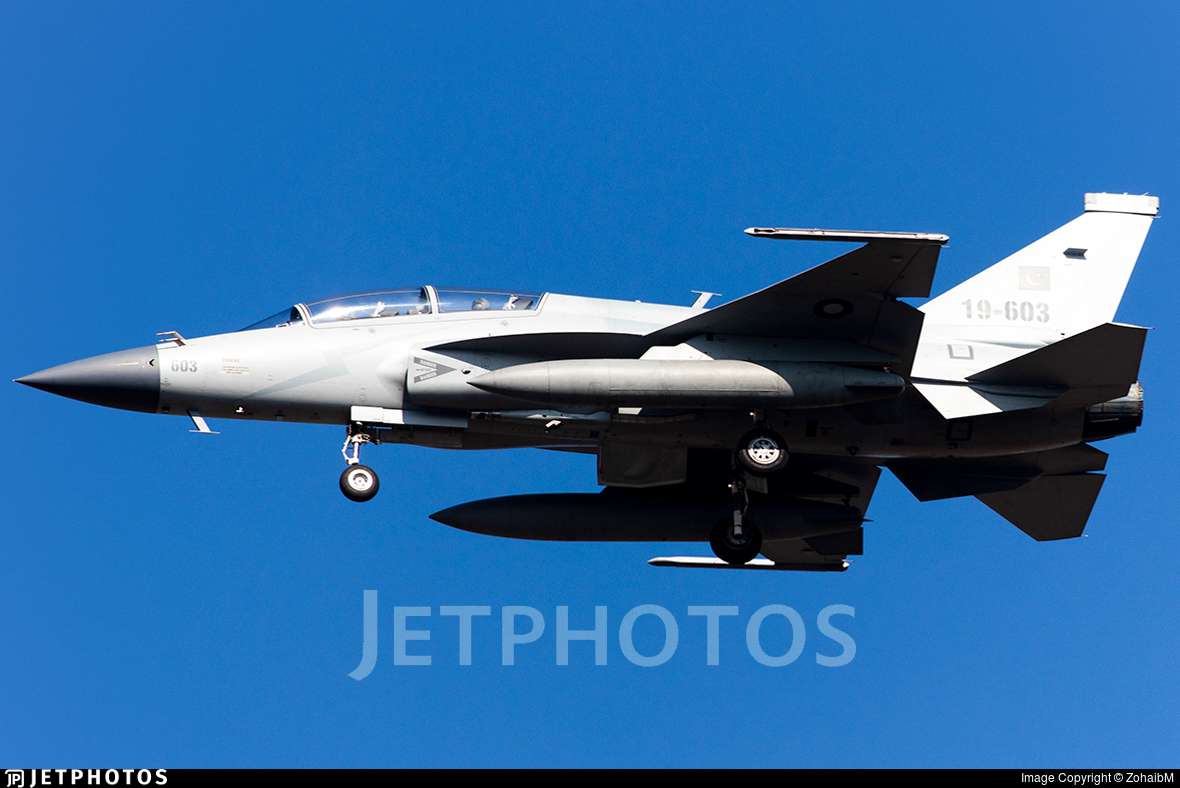 19-603 - Chengdu JF-17B Thunder - Pakistan - Air Force