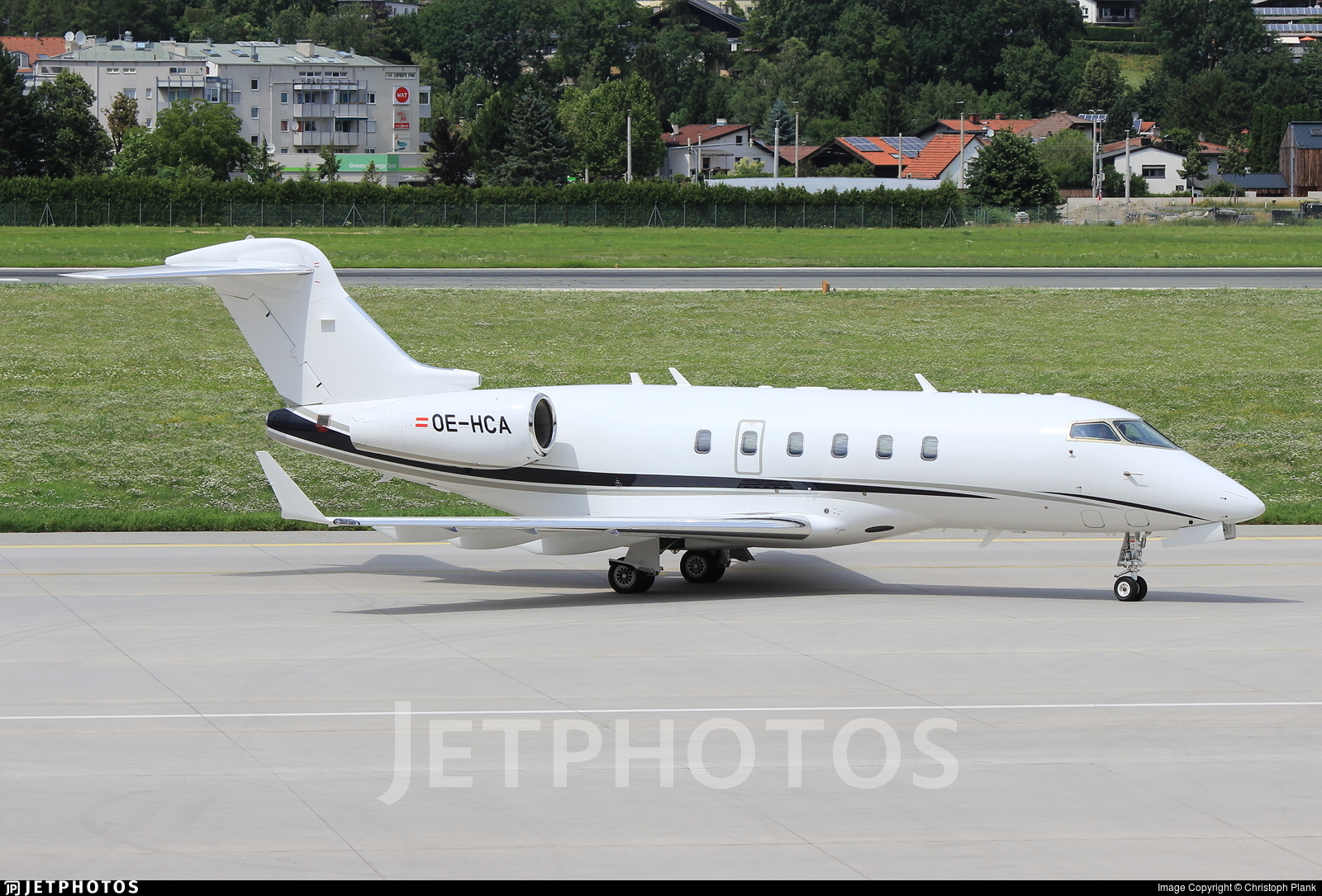 OE-HCA - Bombardier BD-100-1A10 Challenger 300 - AVAG Air
