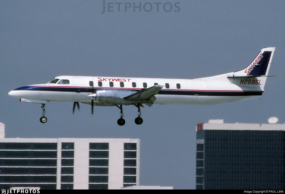 N2685L - Swearingen SA227-AC Metro III - SkyWest Airlines