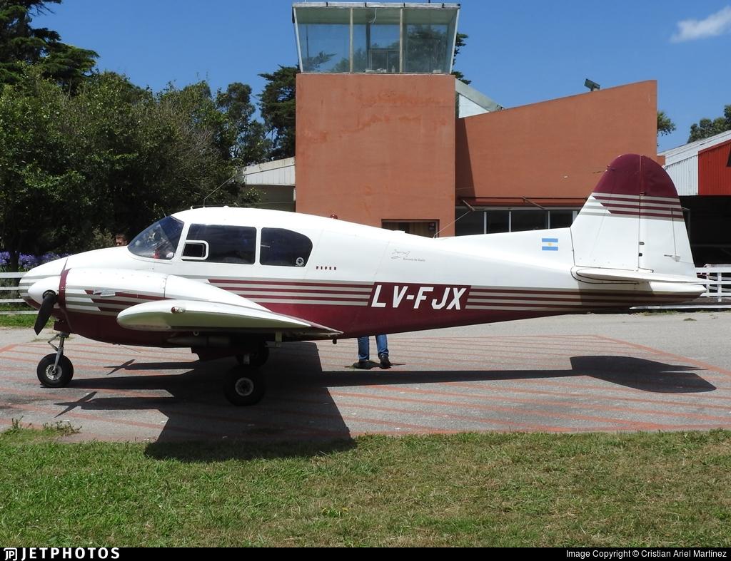 LV-FJX - Piper PA-23-160 Apache - Private