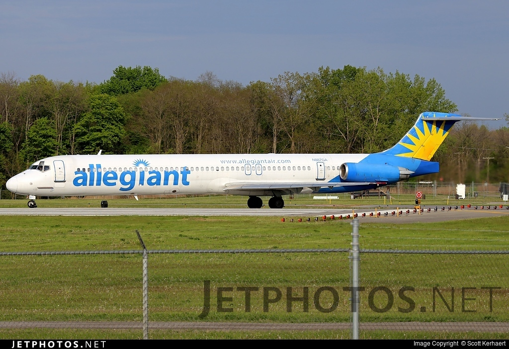 N887GA - McDonnell Douglas MD-83 - Allegiant Air