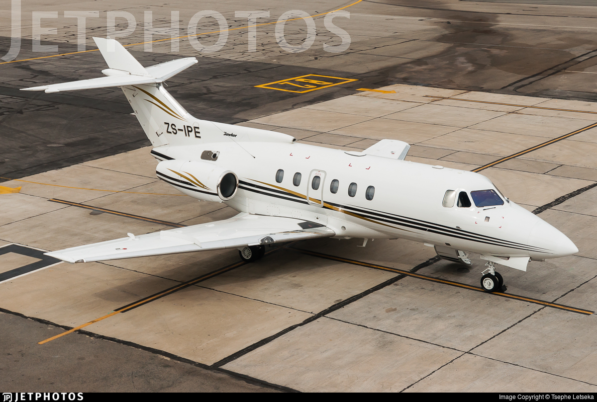 ZS-IPE - Hawker Siddeley HS-125-700A - Private