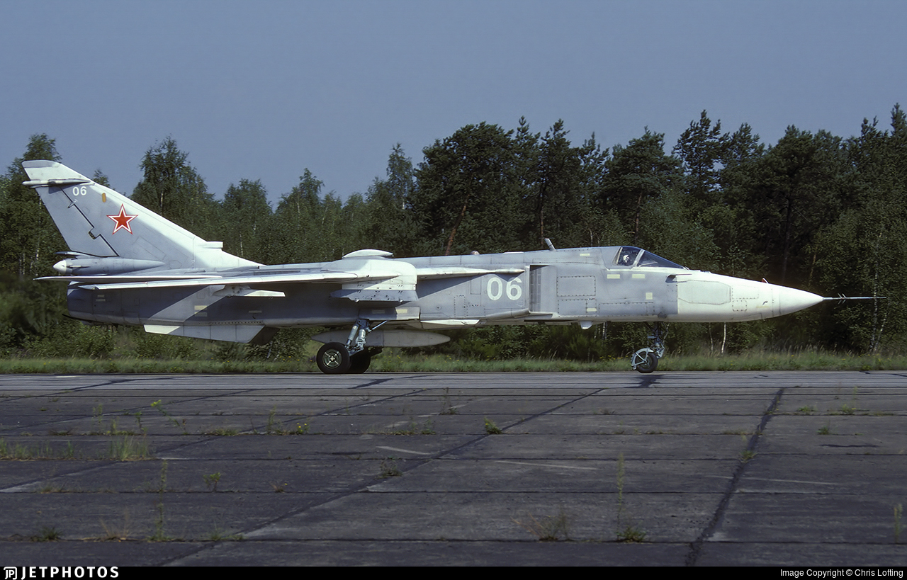 06 - Sukhoi Su-24MR Fencer - Russia - Air Force