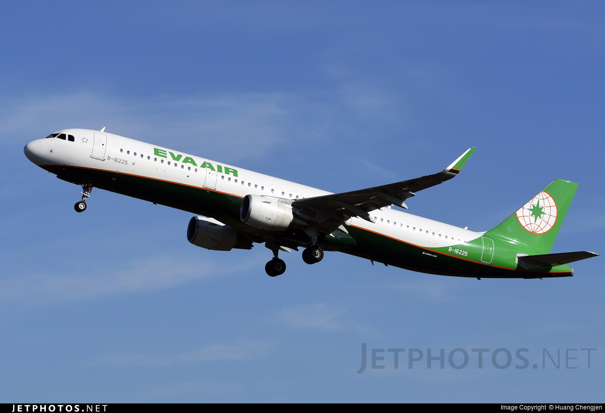 B-16225 - Airbus A321-211 - Eva Air