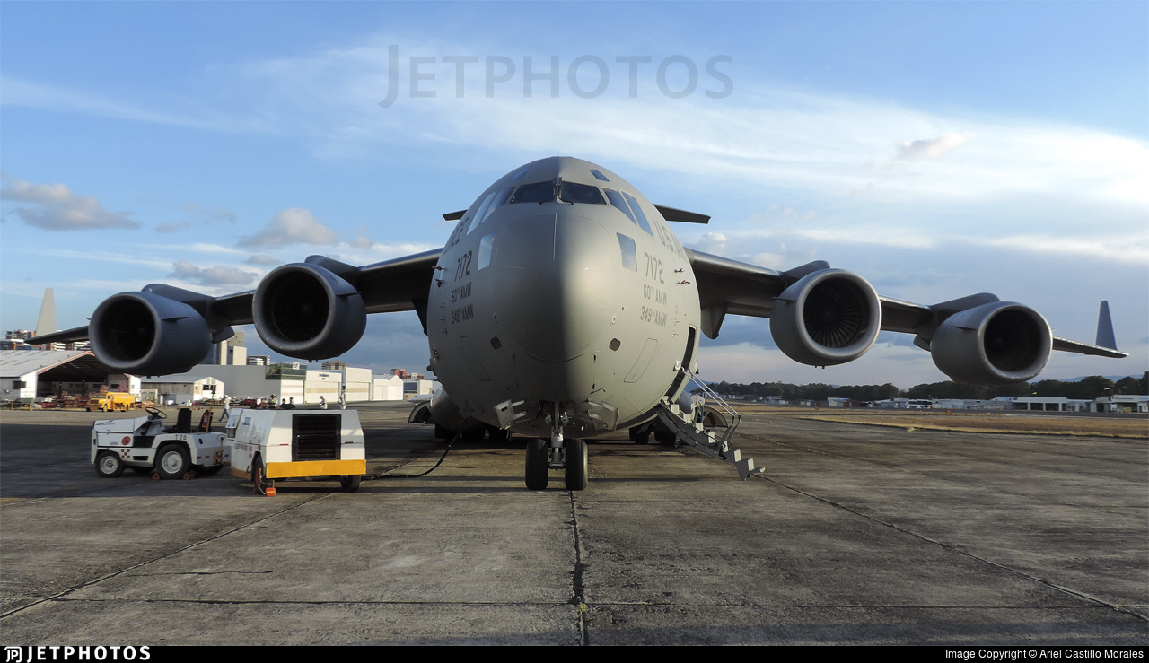 07-7172 - Boeing C-17A Globemaster III - United States - US Air