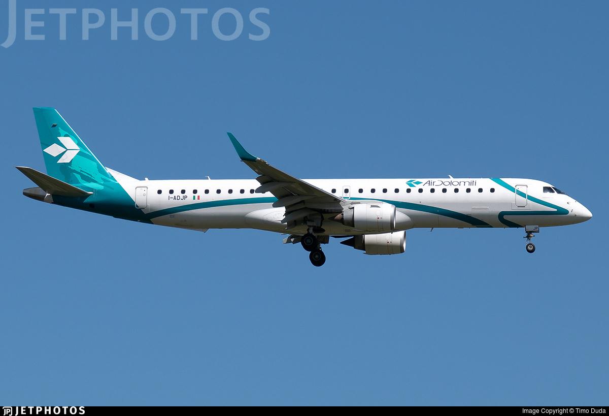 I-ADJP - Embraer 190-200LR - Air Dolomiti