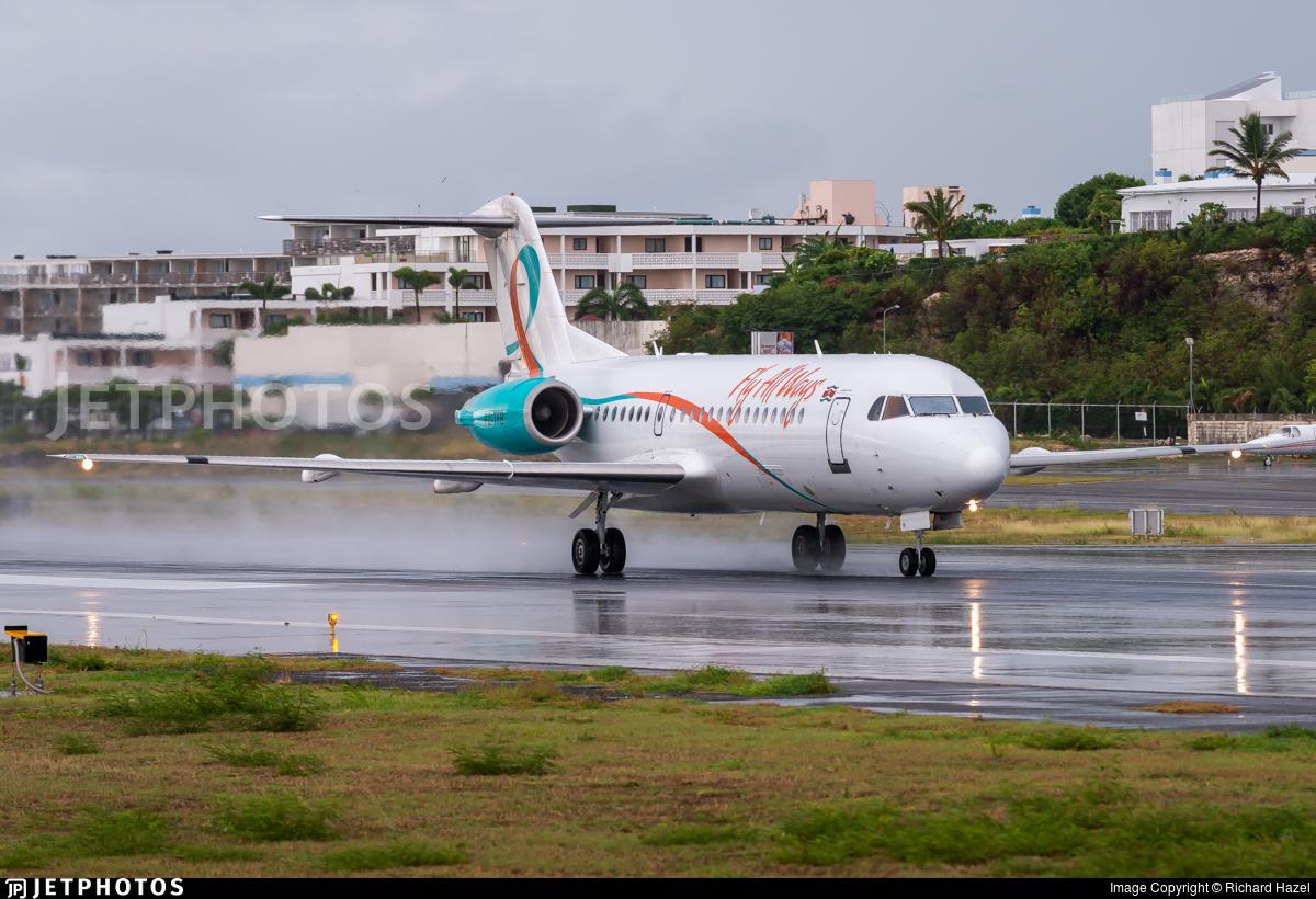 PZ-TFB - Fokker 70 - Fly All Ways