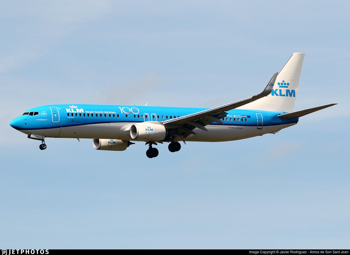 PH-BCG - Boeing 737-8K2 - KLM Royal Dutch Airlines
