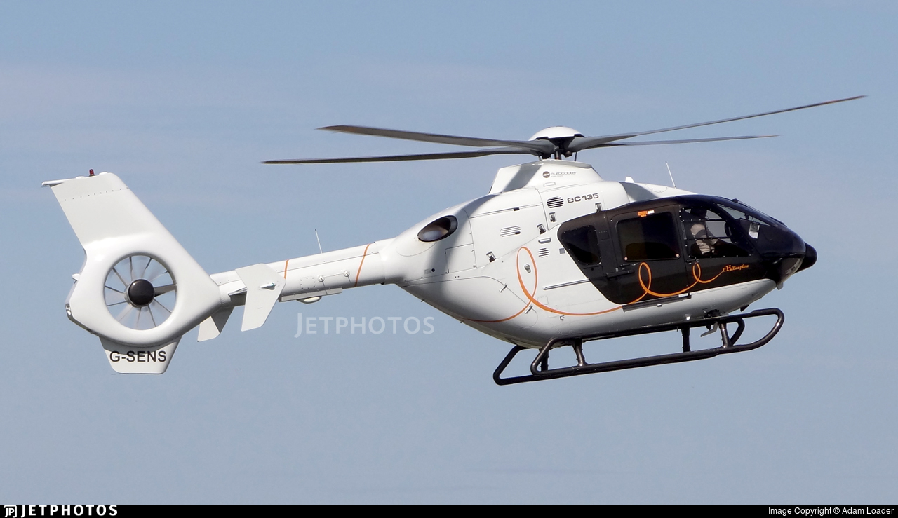G-SENS - Eurocopter EC 135T2+ - Capital Air Services