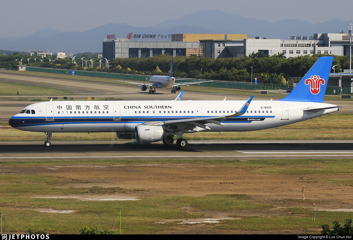 B-8425 - Airbus A321-211 - China Southern Airlines