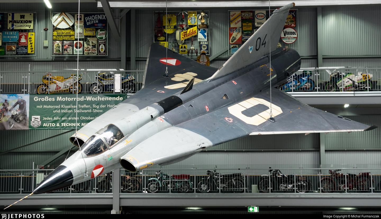 04 - Saab J-35Ö Mk.II Draken - Austria - Air Force