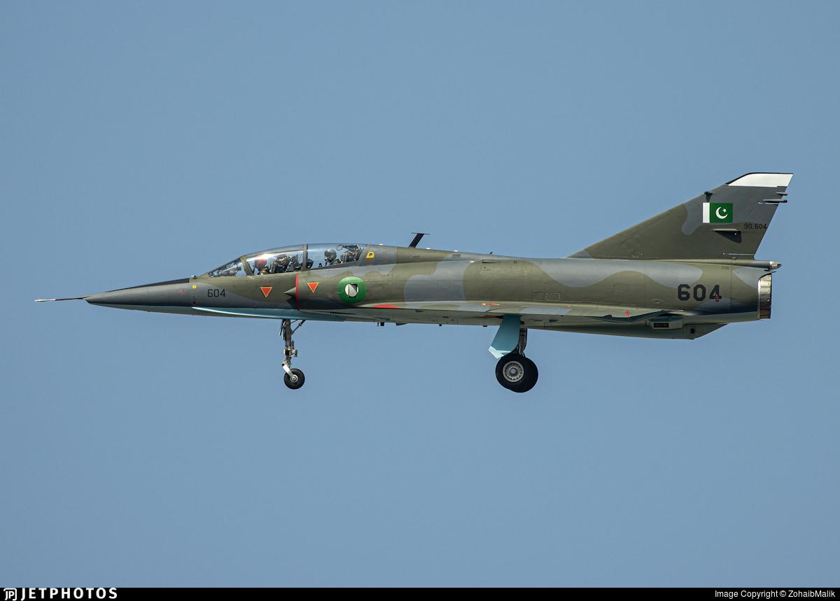 90-604 - Dassault Mirage 3DA - Pakistan - Air Force