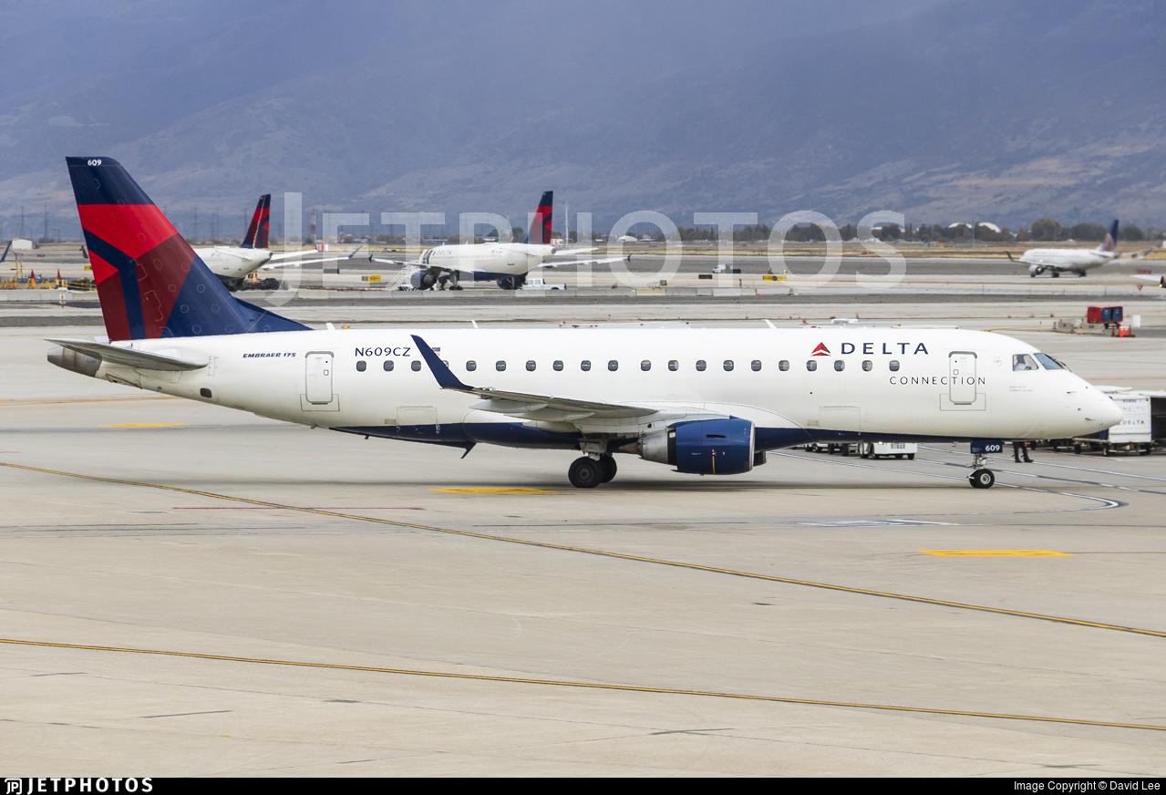 N609CZ - Embraer 170-200LR - Delta Connection (Compass Airlines)