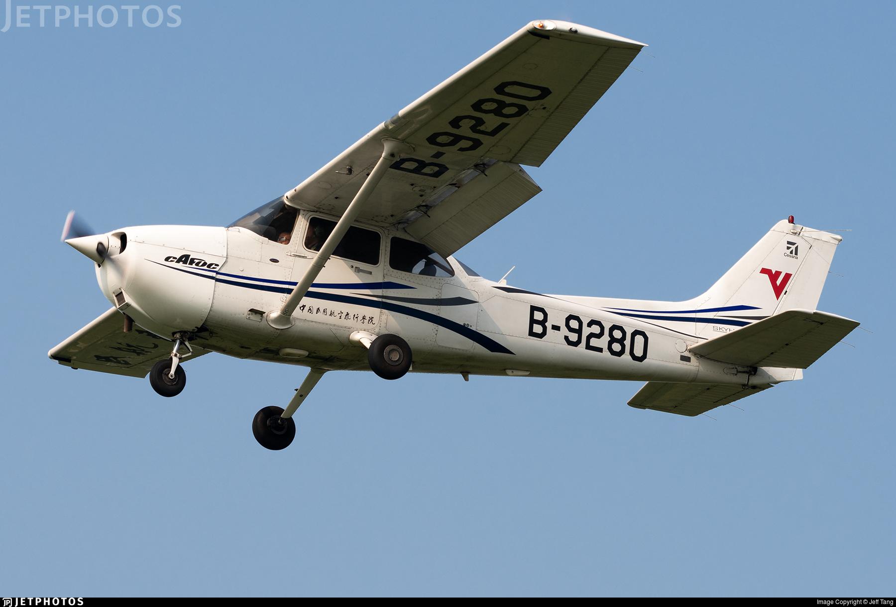 B-9280 - Cessna 172R Skyhawk - Civil Aviation Flight University of China