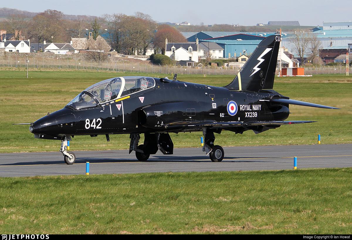 XX239 - British Aerospace Hawk T.1W - United Kingdom - Royal Navy