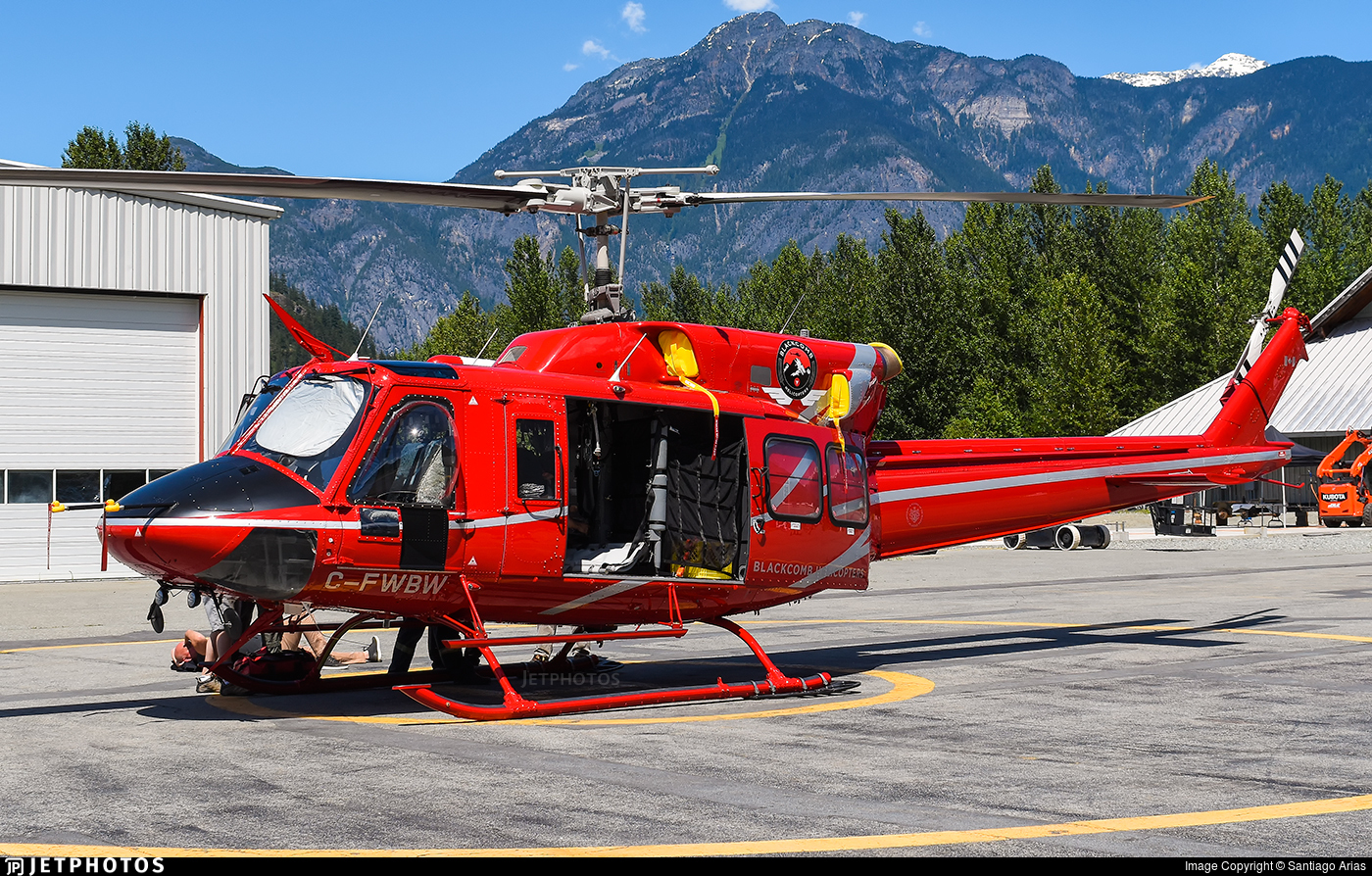 C-FWBW - Bell 212 - Blackcomb Helicopters