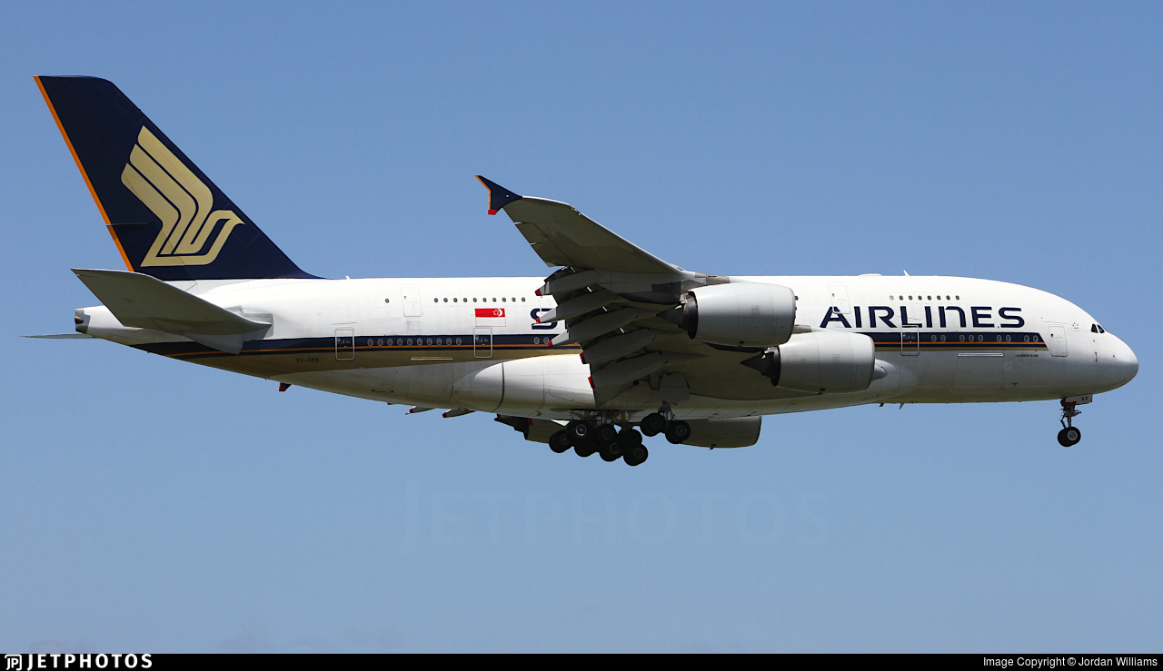 9V-SKK - Airbus A380-841 - Singapore Airlines
