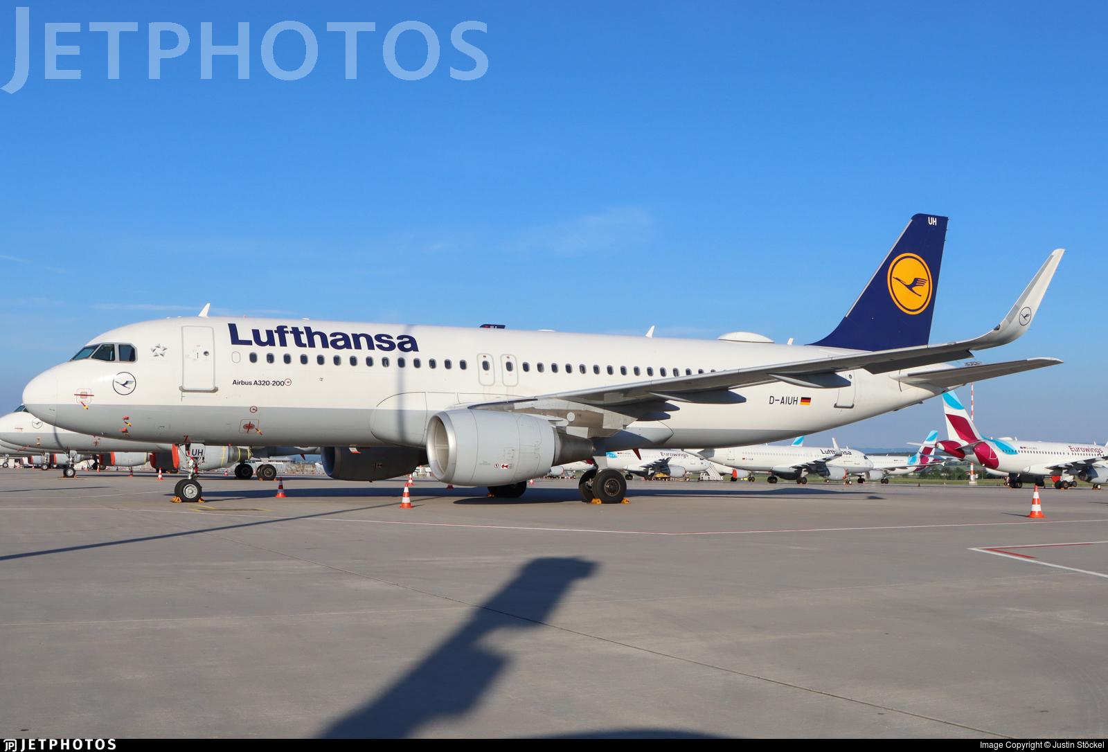 D-AIUH - Airbus A320-214 - Lufthansa
