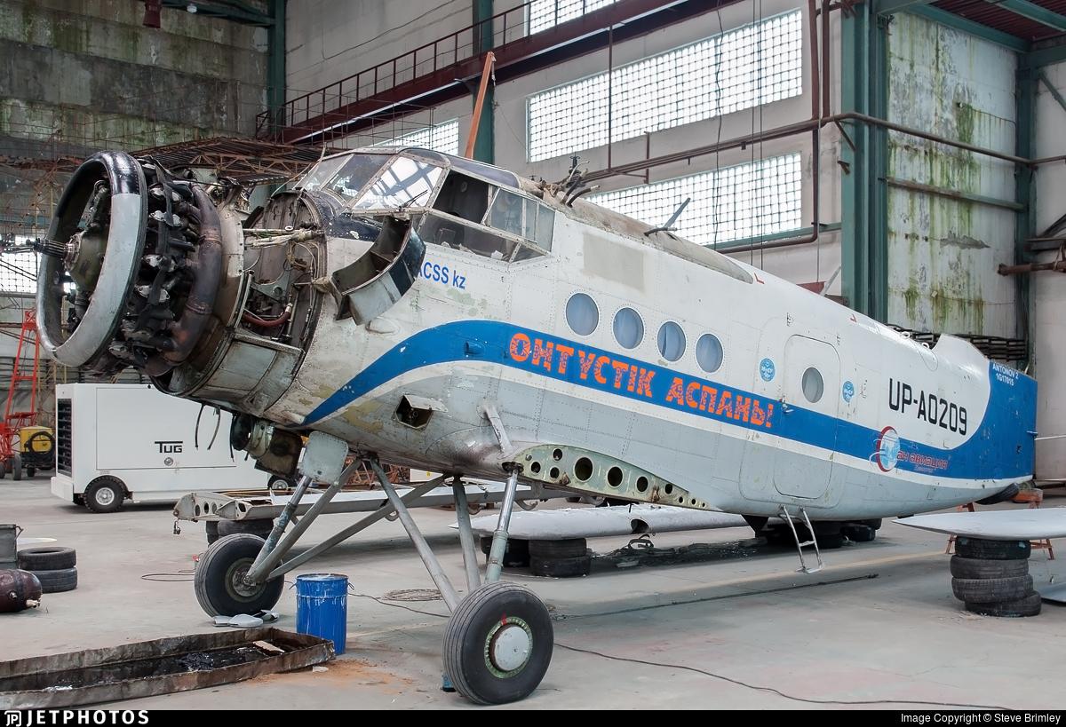 UP-A0209 - PZL-Mielec An-2R - Scat Air Company