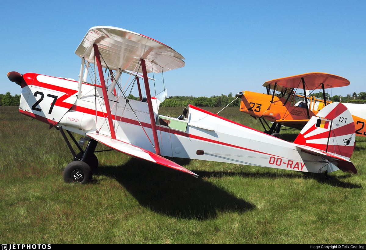 OO-RAY - Stampe and Vertongen SV-4B - Private