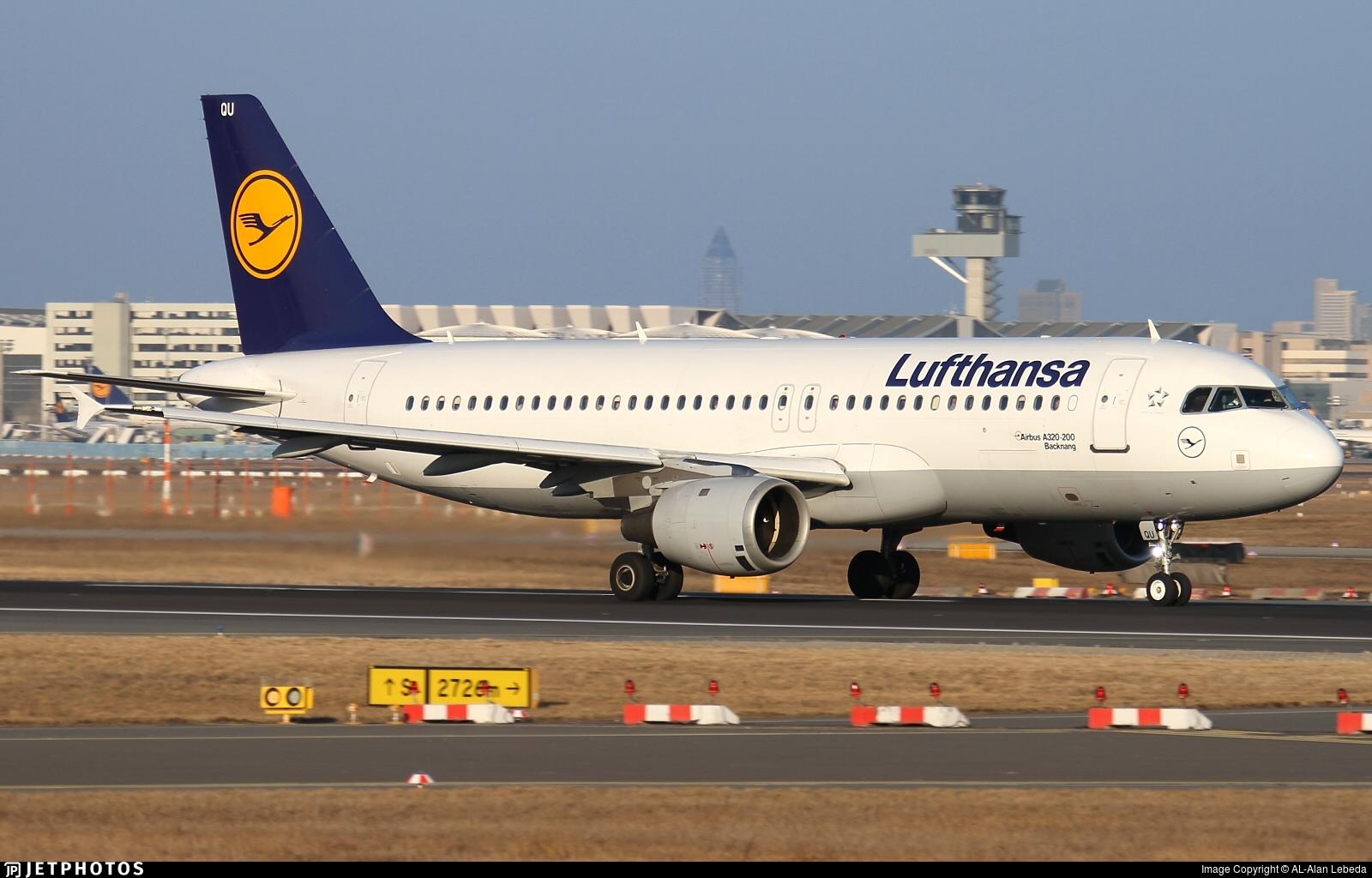 D-AIQU - Airbus A320-211 - Lufthansa