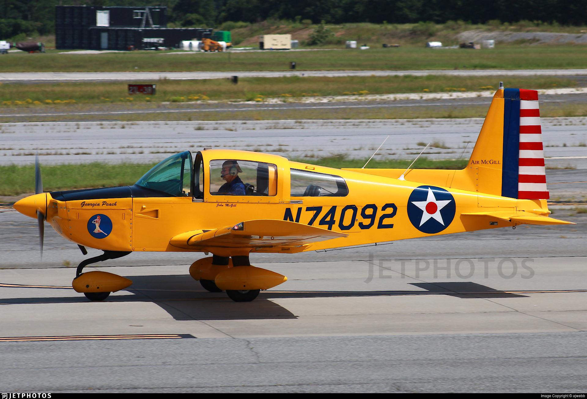 N74092 - Grumman American AA-5B Tiger - Private