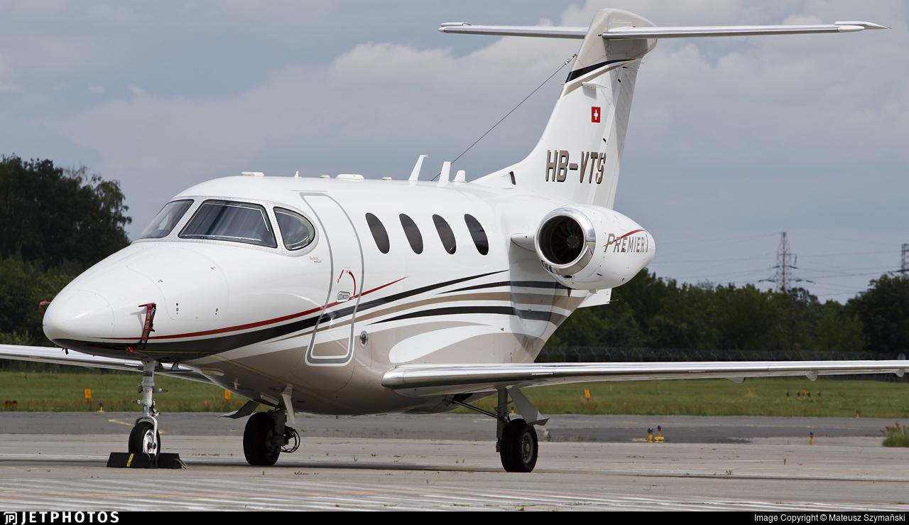 HB-VTS - Raytheon 390 Premier I - Private
