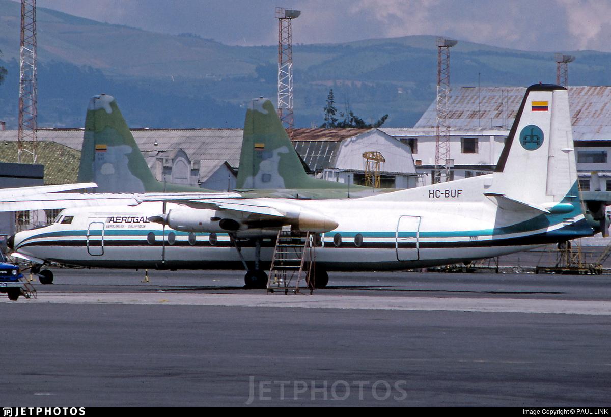 HC-BUF - Fairchild-Hiller FH-227D - AeroGal Aerolíneas Galápagos