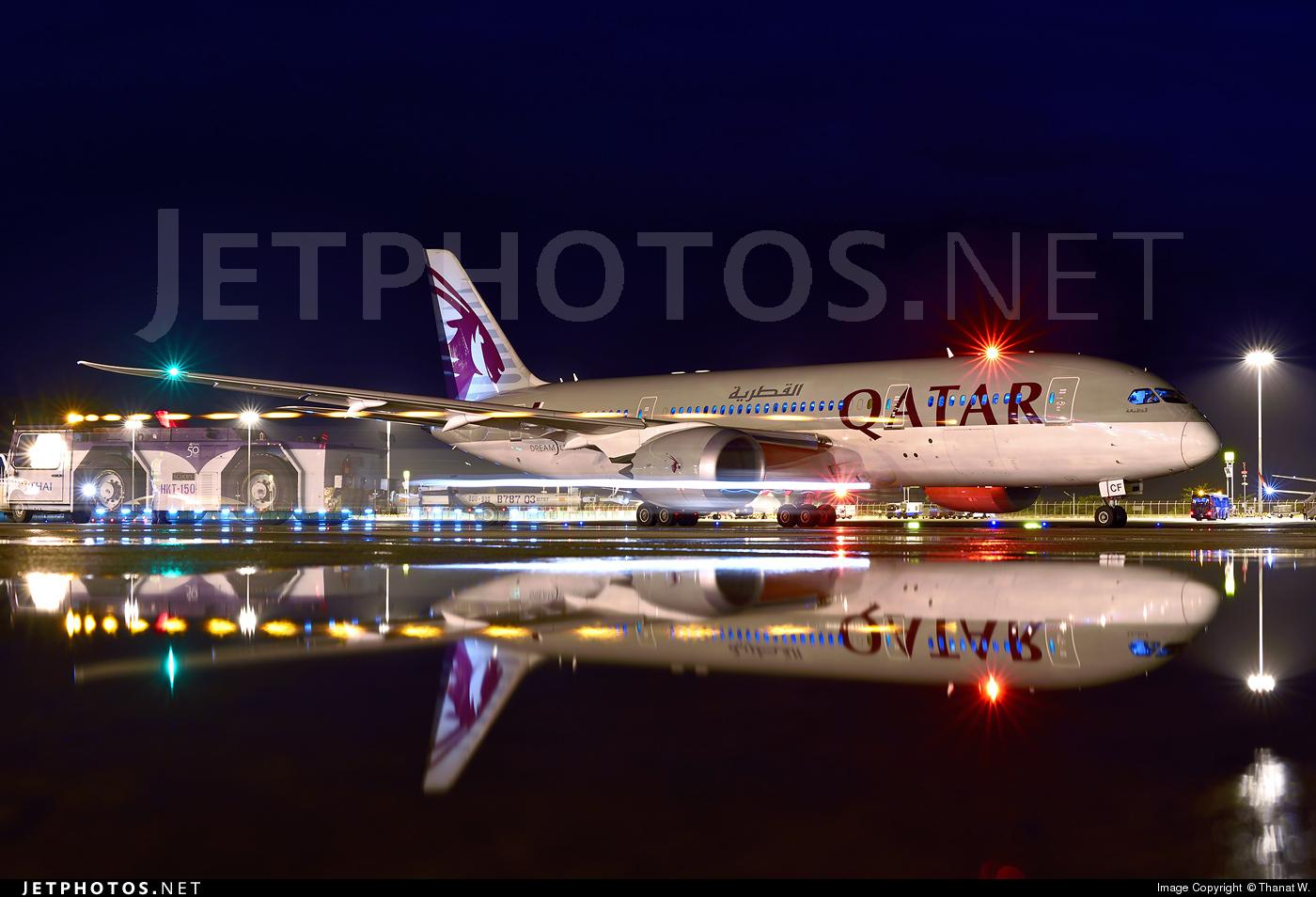 A7-BCF - Boeing 787-8 Dreamliner - Qatar Airways