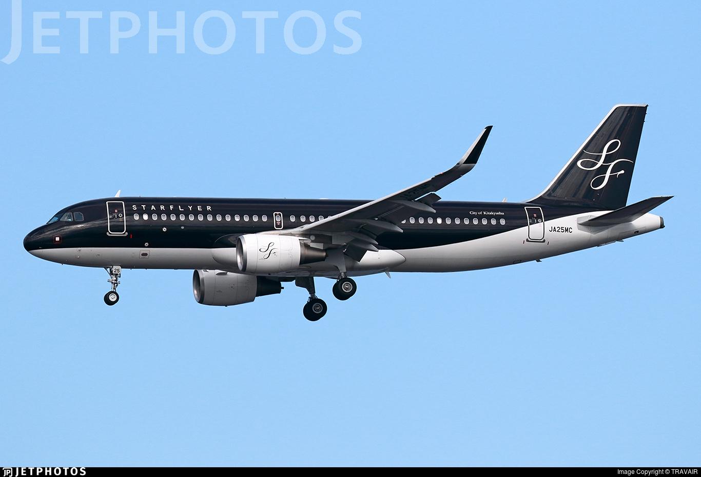JA25MC - Airbus A320-214 - Starflyer